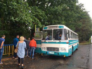autobusy, penzion Fořtovna, Cerhonice ,Písecko