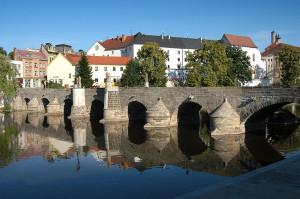 Kamny most Pisek