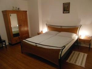 Ložnice 1 - penzionu Fořtovna Cerhonice