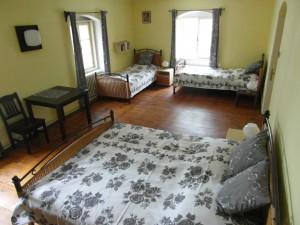 Pokoj 3 - ubytovani fortovna Cerhonice, Okolí Písku