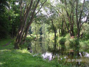 řeka-Lomnice-okolí-penzionu-Fořtovna-Písecko-jižní-Čechy