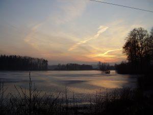 Nový-rybník-okolí-penzionu-Fořtovna-Písecko-jižní-Čechy