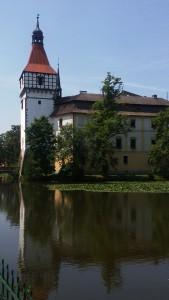 Blatenský zámek, výlety v okolí penzionu Fořtovna, Písecko, jižní Čechy
