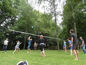 zahrajte si volejbal s přáteli, penzion Fořtovna, Písecko, jižní Čechy